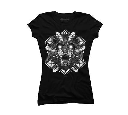 ffe751f0e3b3 Mechanical Beast Juniors' Small Black Graphic T Shirt - Design By Humans