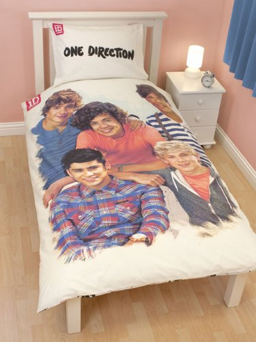 Elegant One Direction 1D U0027Crushu0027 Single Duvet Cover Set