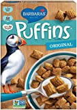 crunchy corn bran - Barbara's Bakery Puffins Cereal, Original, 10 Ounce (Pack of 6)