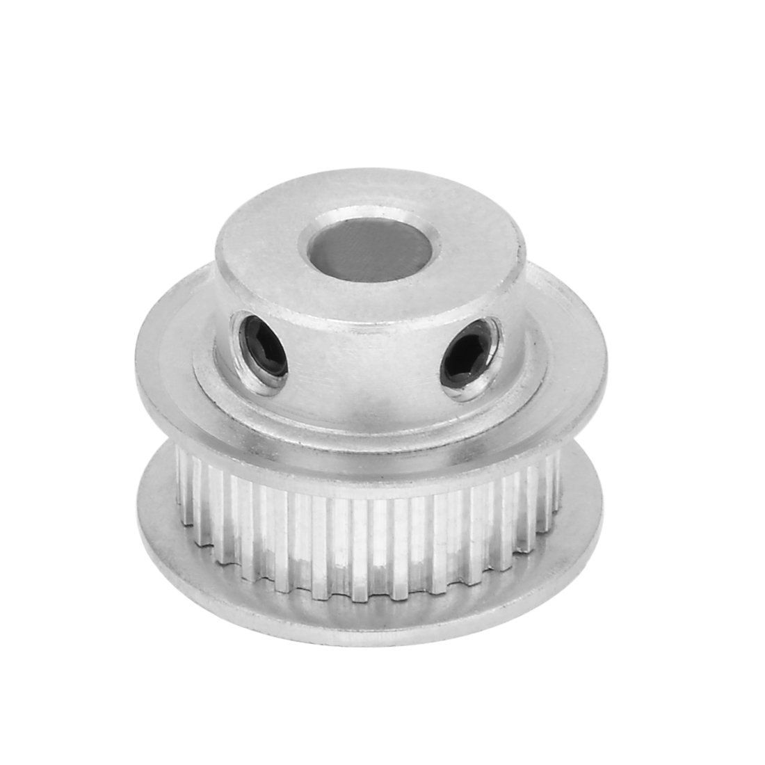 uxcell Aluminum MXL 30 Teeth 6mm Bore Timing Belt Pulley Synchronous Wheel for 6mm Belt 3D Printer CNC