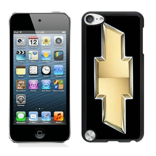 iPod Touch 5 chevy car logo Black Shell Cover Case,Durable Case (Ipod 5 Chevy Cases)