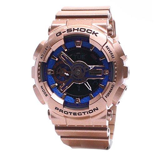 Casio Ladies G SHOCK Analog-Digital Sport Quartz Watch NWT GMA-S110GD-2A