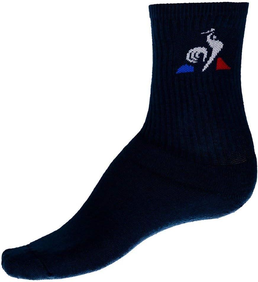 Le Coq Sportif Ess Classique 3 Crew Socks D.Blues//N.Opt Chaussettes Femme