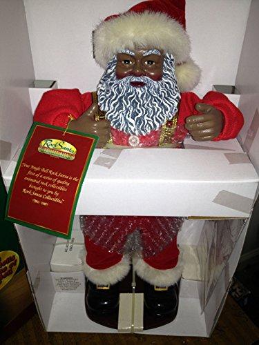 Jingle Bell Rock Santa African American 1st Edition 1999 ()