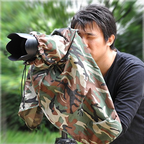 Matin Digital SLR Camera Rain Cover Camouflage - Large by MATIn