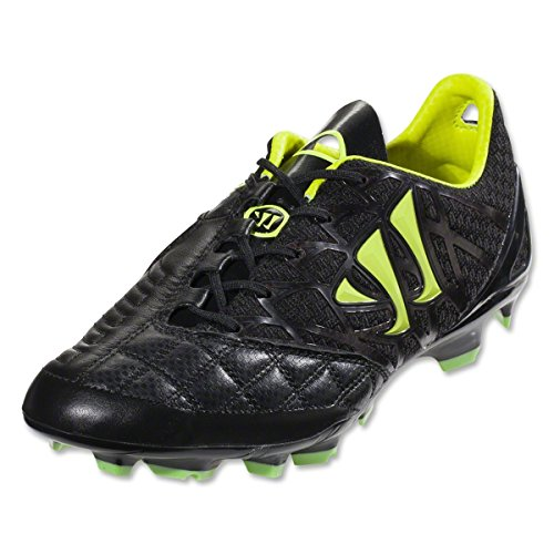 Warrior  Gamb Pro K FG,  Herren Fußballschuhe Noir - Black/Jazz Green
