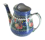 Polish Pottery Summer Blooms Watering Can