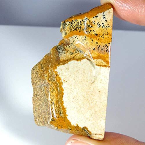 GEMSCREATIONS 128.70Cts.Natural Exclusive Designer Picture Jasper Slab Polished Rough Minerals