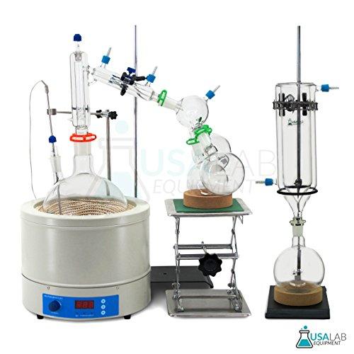 USA Lab Equipment 5000mL/5L Short Path Distillation Kit