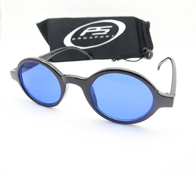 f880e1385b Amazon.com  Classic Small Round Circle Retro 70 s John Lennon Style  Sunglasses  Clothing