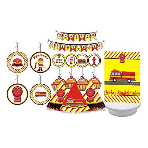 fire truck decorations - 9