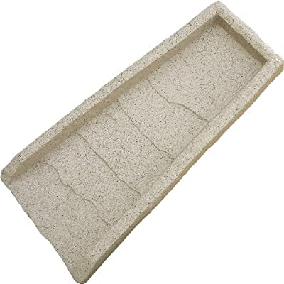 Emsco Group 2100 Natural Down Spout Poly Splash Block Sand 22-Inch