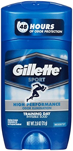 Gillette Sport Anti Perspirant & Deodorant, Training Day 2.6 oz (Pack of 6)