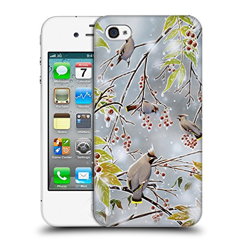 Cooliphone4Cases.com-2822-Tropical Paradise Bird Art Hard Back Case for Apple iPhone 4 / 4S-B01KX4H366-T Shirt Design