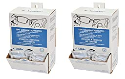 Leader Lens Cleaning Towelette PZGzR Dispenser, 100 Count (2 Pack)