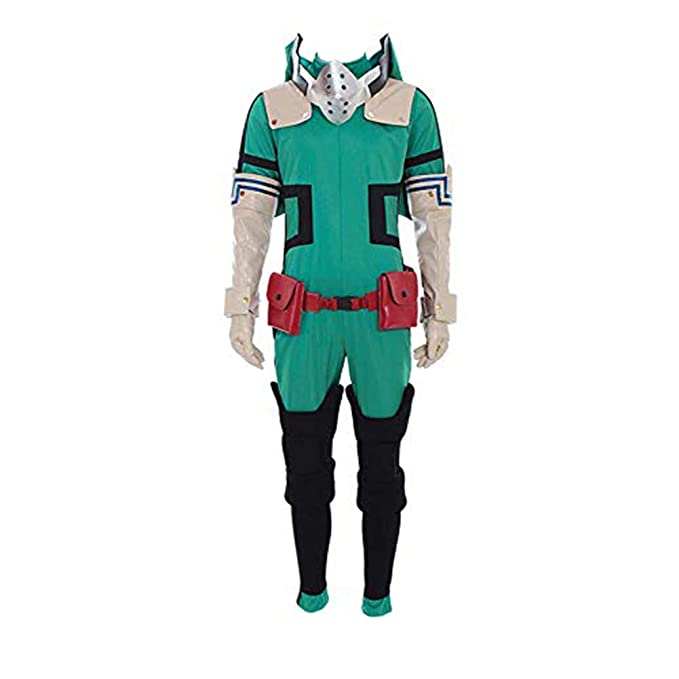 Cosshow My Hero Academia Akademia Izuku Midoriya Cosplay Costume Halloween Men S Suit