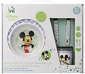 Disney Baby, Mickey Mouse Melamine Set