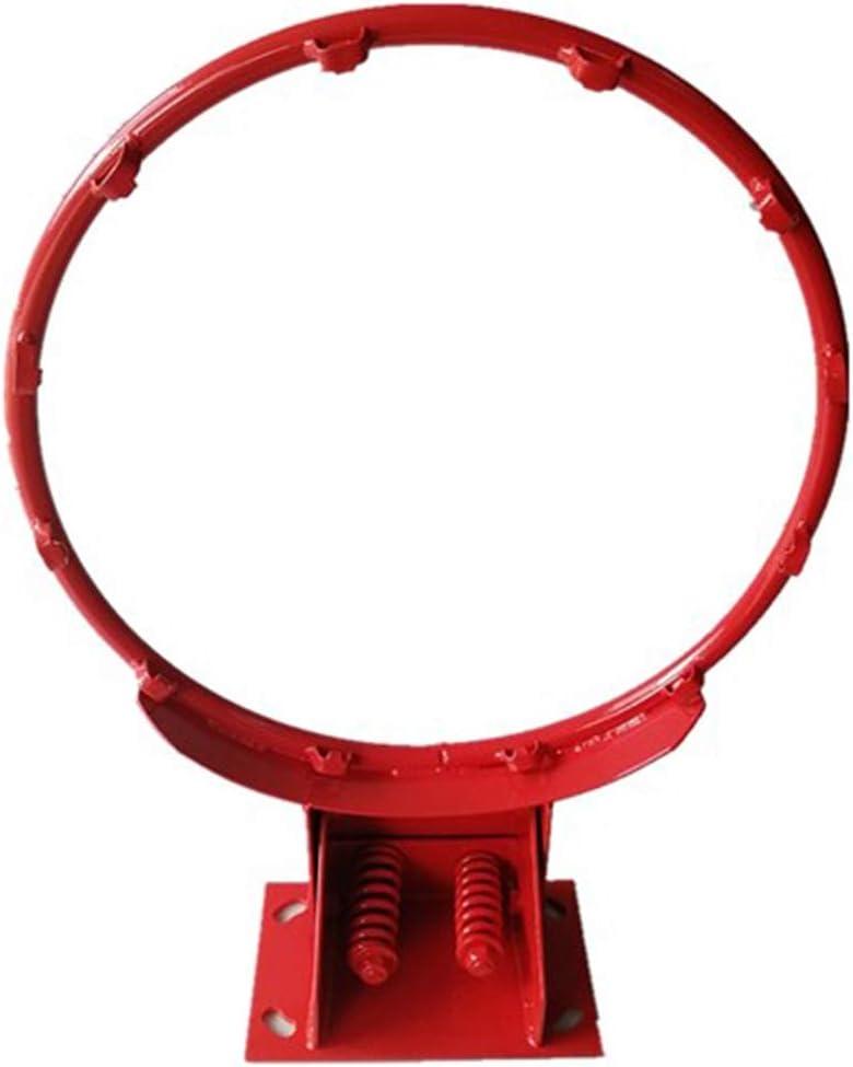 SONGYU Hueco Aro De Baloncesto Bajo Techo En Exteriores Adolescente Netball Ring Montado En La Pared Ni/ño Juguete De Tiro Canasta Anillo Di/ámetro 35cm Color : Red