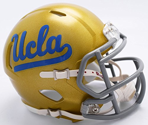 (Riddell NCAA UCLA Bruins Helmet Mini SpeedHelmet Replica Mini Speed Style, Team Colors, One Size)