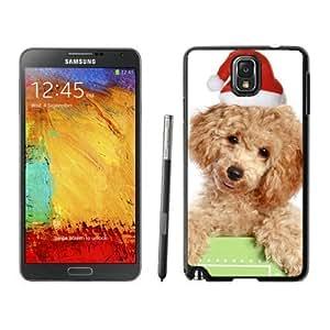 Niche market Phone Case Christmas Dog Black Samsung Galaxy Note 3 Case 20