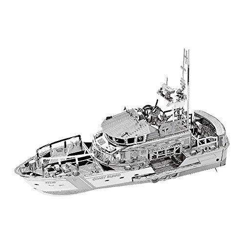 Air Force Laser Cut - MOTU 3D Metal Nano Puzzle Lifeboat Model Kits C22201 DIY 3D Laser Cut Jigsaw Toys