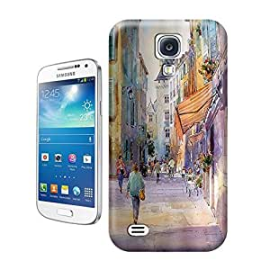 Unique Phone Case Watercolor style architecture#8 Hard Cover for samsung galaxy s4 cases-buythecase