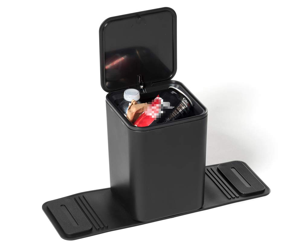 Meistar Global Meistar Car Trash can Bin Waste Container Plastic with lid