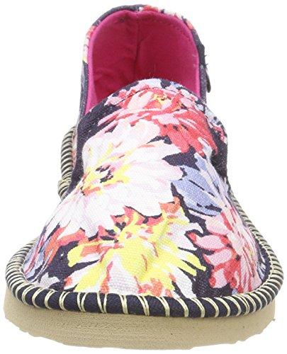 Y Floral Espadrilles navy Whitstable Tom Joule Blau Femme flipadrille qWCx5nAwTS