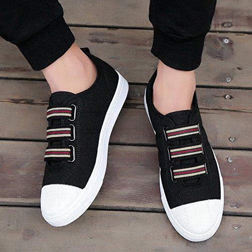 con da uomo tomaia da uomo casual scarpe da uomo XFF scarpe casual Scarpe da uomo nero wYqxIgqa