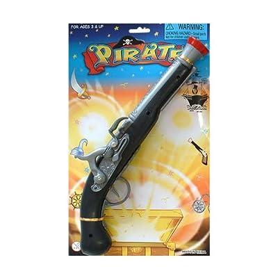 P'tit Clown 95022 Pistolet de Pirate - Plastique - 35 cm - Multicolore