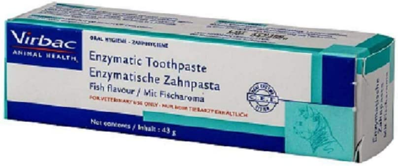 Crema dental enzimática para perros.