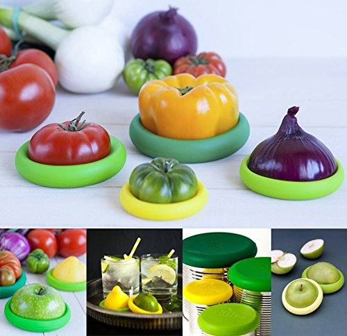 Food Huggers Reusable Silicone Food Savers