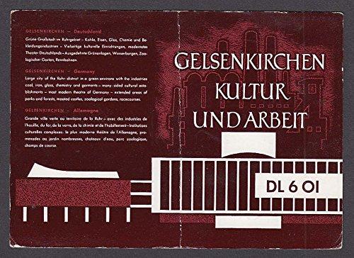 DL6OI Gelsenkirchen Kultur Und Arbeit Germany QSL Ham Radio