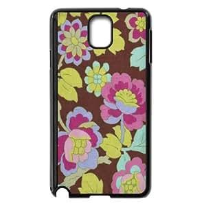 Samsung Galaxy Note 3 Cell Phone Case Black Cutting Garden in Mocha BNY_6773129