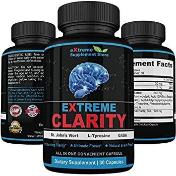 Amazon Com Extreme Clarity Best Brain Booster Supplements Organic