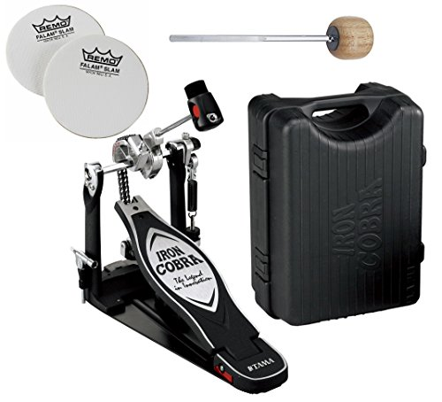 TAMA HP900RN Iron Cobra 900 Series Rolling Glide Single Bass Drum Pedal (Glide Single Pedal)
