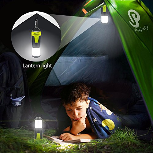 Jakemy Led Lantern, Camping lantern Ultra Bright Outdoor Lantern with Red light, Camping Survival Gear for Hiking, Emergencies, Hurricanes with Magnetic Base, can be Collapsible
