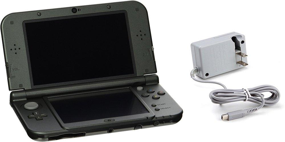 Nintendo 3DS XL Bundle (2 Items): Nintendo New 3DS XL - Black, and an AC Adapter