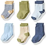 Touched by Nature Baby Organic Cotton Socks, Boy