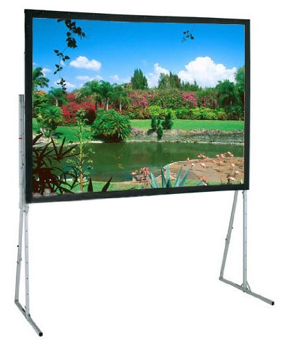 Ultimate Folding Matte White Portable Projection Screen Viewing Area: 10' 6