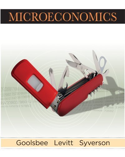 Microeconomics by Goolsbee, Austan Published by Worth Publishers 1st (first) edition (2012) Hardcover pdf epub