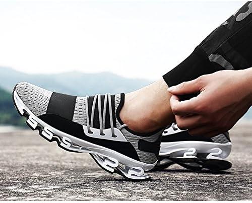男性軽量ランニングシューズウォーキングカジュアル大学スポーツ靴ファッションジムスニーカー大学生のための屋外旅行