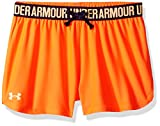 Under Armour Girls' Play Up Shorts, After Burn
