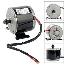 YaeTek 24V DC 300W 2700RPM Permanent Magnet Electric Motor Generator for Wind Turbine