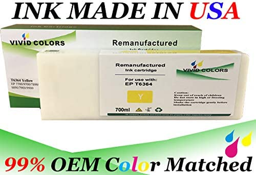 VC Remanufactured T636B00 Green T636B Green for Stylus PRO 7900 Printer