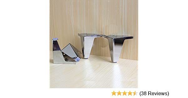 Round Waterproof Legs Adjustable Furniture Support Feet For Kitchen Cabinet Sofa Coffee Table Bed Work Bench Replacement Legs 4 Piece Stainless Steel Furniture Legs Black Mimbarschool Com Ng
