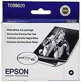 EPSON T059820 Matte Black Ink Cartridge - Stylus Photo R2400