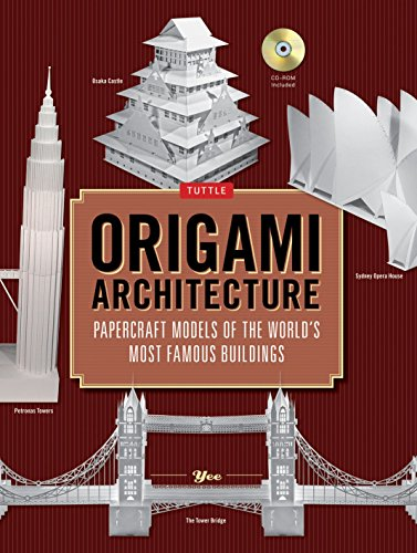Most Models Ship - Origami Architecture: Papercraft Models of the World's Most Famous Buildings: Origami Book with 16 Projects & Instructional DVD