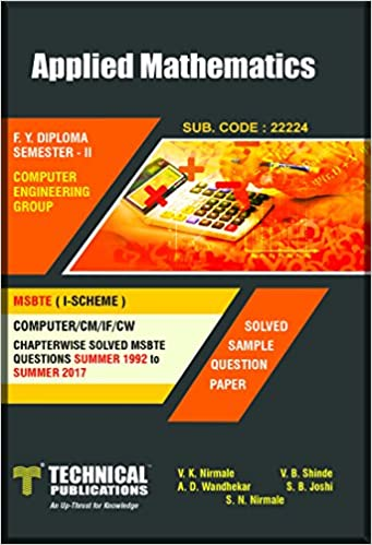 Buy MSBTE - I Scheme-Applied Mathematics ( F Y  DIPLOMA SEM-II COMP