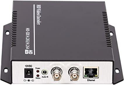 MPEG4 H.264 VGA Video Audio Live Streaming Encoder IPTV Encoder Transmitter H264